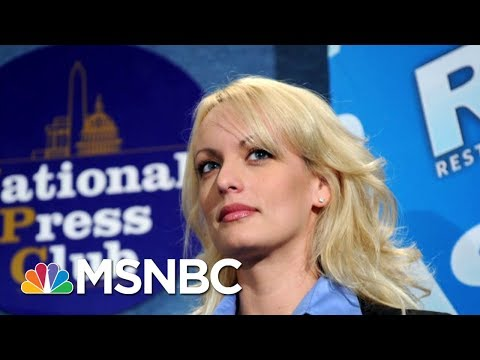 President Donald Trump's Lawyer: Stormy Daniels Issue 'Poses A Serious Threat' | Morning Joe | MSNBC
