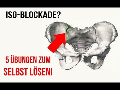 ISG-Blockade: 5 Übungen zum selbst lösen