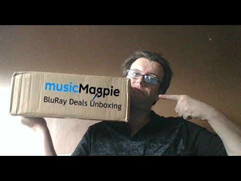 MusicMagpie: BluRay Deals Unboxing