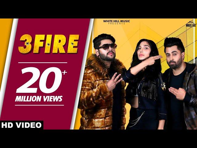 3 FIRE : Sharry Mann (Official Video) Feat MistaBaaz | Swaalina | New Punjabi Songs 2019 | Teen Fire