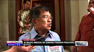 Indonesian Vice President Backs Calls To Sink Illegal Fishing Vessels