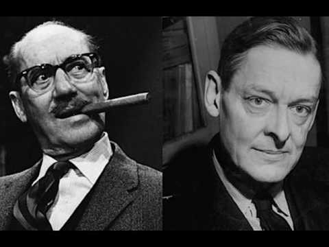 Groucho Marx At T.S. Eliot's Funeral (Audio) 1965