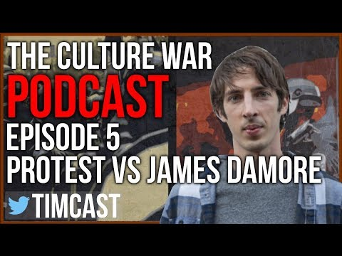 Protesters Damage Audio Equipment at James Damore Event in Portland. (Podcast ft. MundaneMatt)