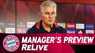 FC Bayern-Pressetalk | Jupp Heynckes ahead of Hertha Berlin | ReLive