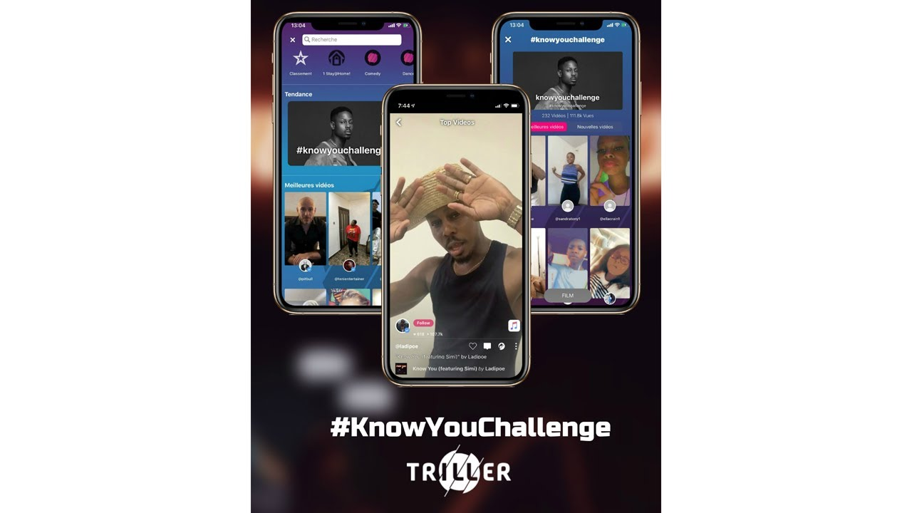 Ladipoe x Simi - Know You Triller Challenge - YouTube