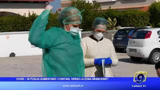 Covid - In Puglia aumentano i contagi, verso la zona arancione
