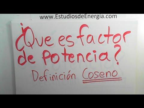 2 ¿Que Es Factor De Potencia? Definición Coseno
