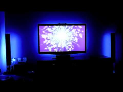 Www cableluminoso com tiras led 5v usb para tv youtube for Tiras led para tv
