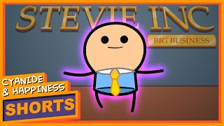 Stevie McBusinessman - Cyanide & Happiness Shorts