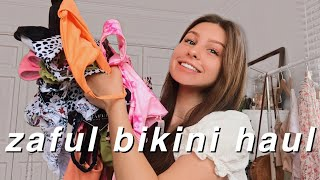 Zaful TRY- ON Bikini Haul 2020 - affordable & cute swimsuit review