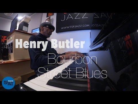 """Henry Butler """"Bourbon Street Blues"""" en Session live TSFJAZZ"""