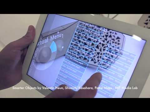 Smarter Objects, Fluid Interfaces Group, MIT Media Lab
