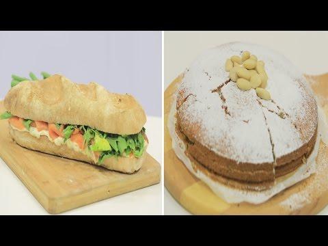 كيكة بنجر - باجيت بحشو السلمون المدخن و الجبن - بانز ياباني : نص مشكل حلقة كاملة