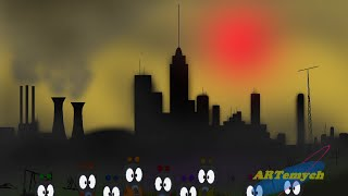 Ecology cartoon / Экологический мультик(Protect the Earth! / Берегите Землю!, 2014-01-09T08:07:34.000Z)
