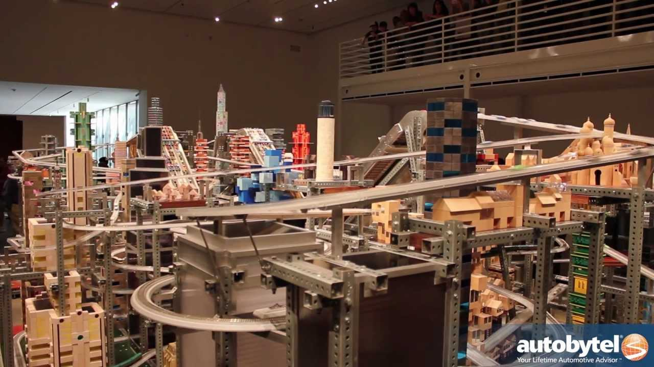 Look - Metropolis II - Chris Burden