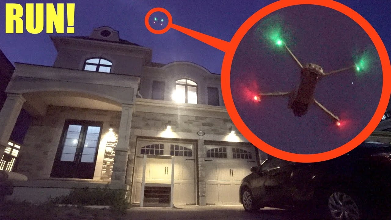 if you ever see a drone flying above your house you need to LEAVE and RUN away fast!!