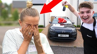 SURPRISING MOM WITH a *BRAND NEW* CAR!! *emotional*