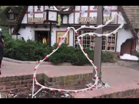 HERSHEYPARK Christmas Candylane | REAL Reindeer! | Sister's Trip! | Laliland's YuleVlog #2