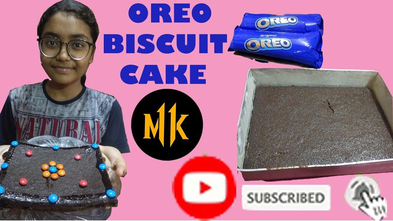 OREO BISCUIT CAKE | MADE MY MINAL | 2020 RECIPE | DO ...