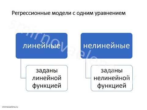 Тема 1.  Цели, задачи и основные понятия эконометрического моделирования.