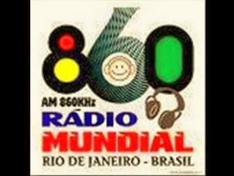 RADIO MUNDIAL AM 860 EM 1987 RIO DE JANEIRO