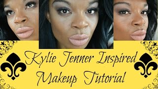 Kylie Jenner Inspired Brown Smokey Eye Tutorial