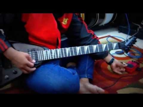 Test Sound Gitar Jackson Flying V RR Updown + Efek Behringer UM300 Dijual Murah Meriah