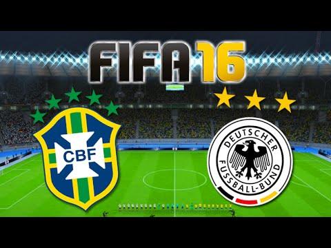 FIFA 16: BRASIL Vs ALEMANHA - SELEÇÕES FEMININAS!