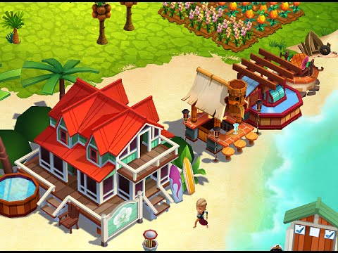 FARMVILLE TROPIC ESCAPE Gameplay iOS / Android