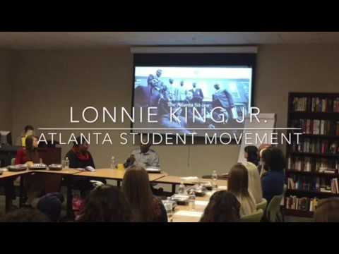 The Atlanta Student Movement and Lonnie King Jr.