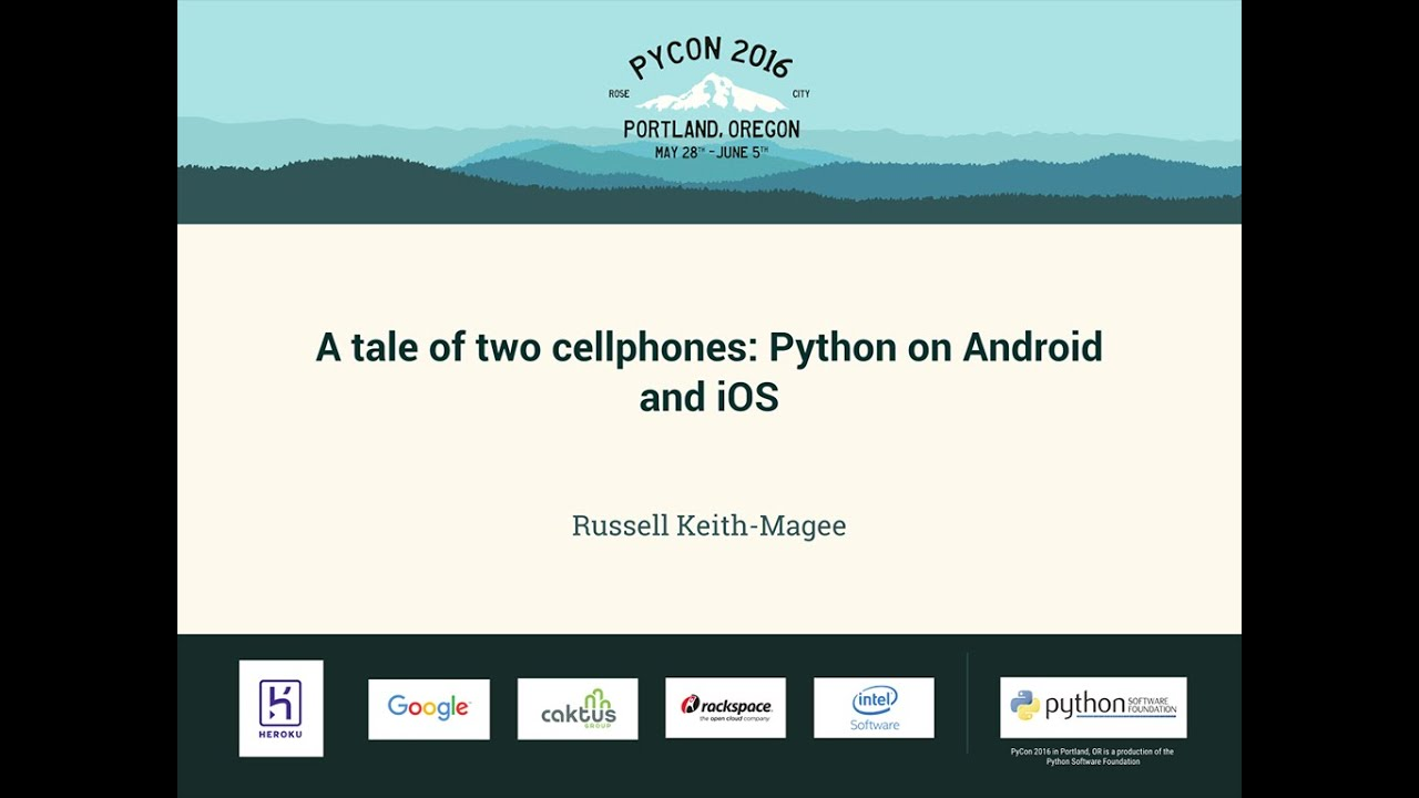 Image from A tale of two cellphones: Python on Android and iOS