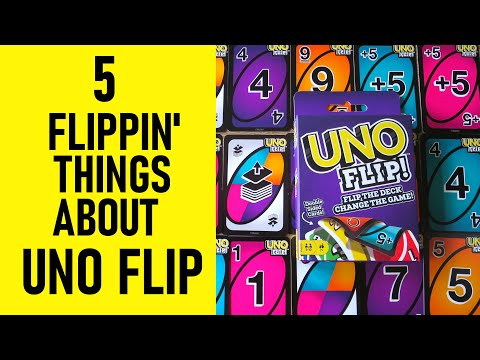 5 Flippin' Things About UNO FLIP You Need To Know | Rules, How To Play & Win