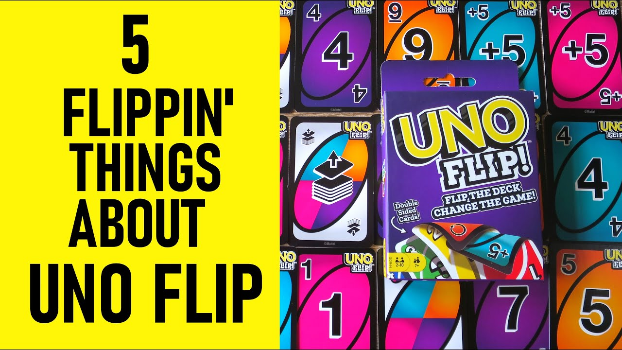 5 Flippin Things About Uno Flip You Need To Know Rules How To Play Win Youtube