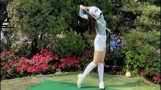 [원본]골퍼 소녀 아름다운 스윙 | 하이라이트 골프 패…
