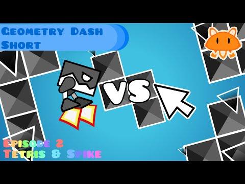 Geometry Dash Animation - Tetris And Spike