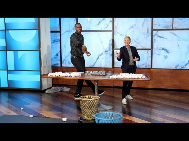 22ec6c8ead8 Video  LeBron James Praises Stephen Curry on  The Ellen DeGeneres Show