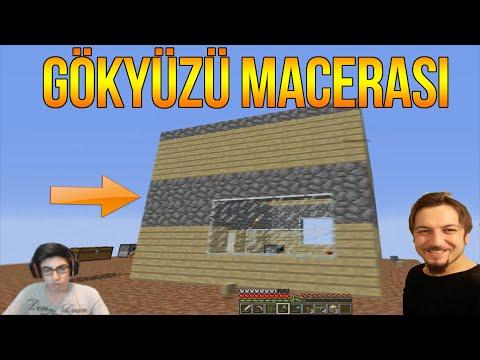 EV YAPIMI   Minecraft Türkçe Survival - Gökyüzü Macerası #5