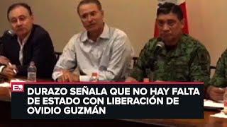 Gabinete de Seguridad Federal informa sobre balaceras en Culiacán