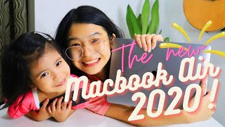 UNBOXING THE NEW MACBOOK AIR 2020!!!!