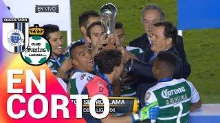 Resumen - Querétaro 3-0 Santos - Final Vuelta Liga MX