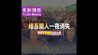 百万維吾爾人一夜消失 傳被祕密轉移分流全國 Muslim Uyghurs Disappearing Overnight? Say They are Being Secretly Transported