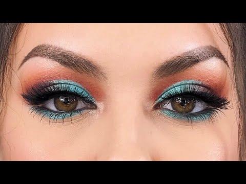 Blue Half Cut Crease Makeup Look | Morphe x Jaclyn Hill Palette | Savannahxo28 thumbnail