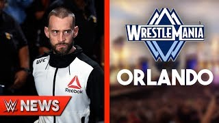 Cm Punk Reveals What It Would Take To Come Back! WrestleMania 36 In Orlando?! - WWE News Ep. 198