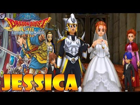 Dragon Quest VIII 3DS |Español| Final Verdadero con Jessica