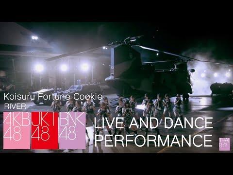 AKB48 JKT48 BNK48 Live and Dance Performance - Koisuru Fortune Cookie - River