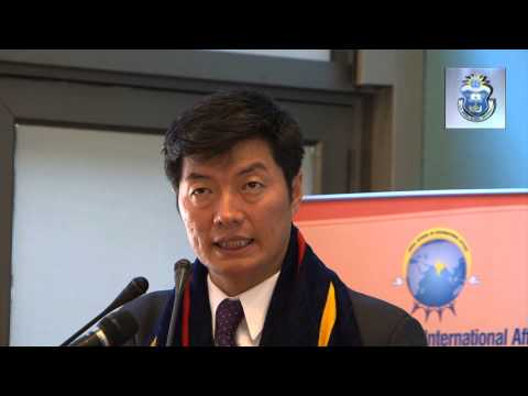 """[Lecture] """"Democracy in Exile: The Case of Tibet"""" - Dr. Lobsang Sangay"""