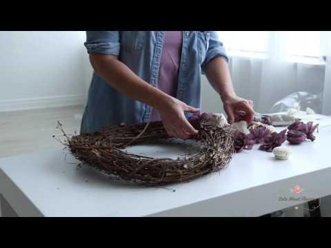 Wreath Craft Kit Tutorial | Sola Wood Flowers