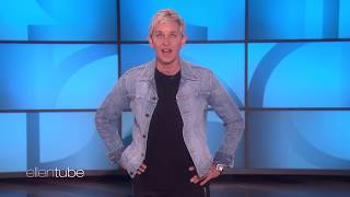 Ellen Looks for the Mystery Celebrity Hiding in Her Audience thumbnail