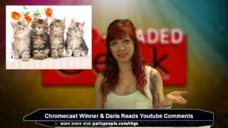 E 54- Daria Reads Viewer Comments, Bulletproof Tux, PonoPlayer   Red Headed Geek Show