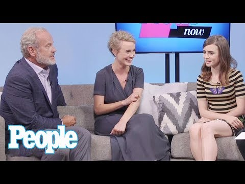 Lily Collins, Kelsey Grammer & 'Last Tycoon' Cast On Matt Bomer, The Industry | People NOW | People